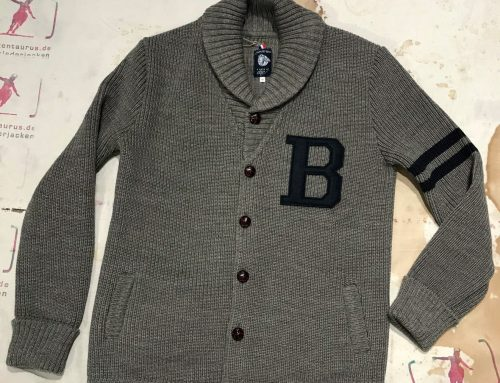 A Piece of Chic letterboy grey