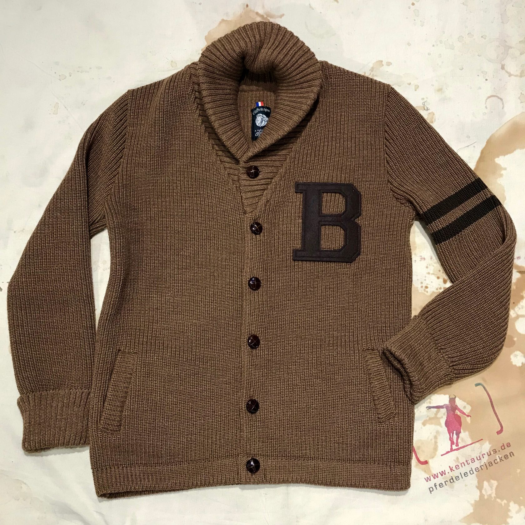 A Piece of Chic letterboy brown