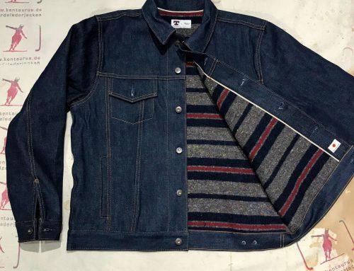 Tellason blanket lined jean jacket