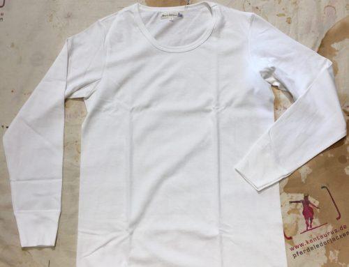 Merz b. Schwanen T Shirt weiss