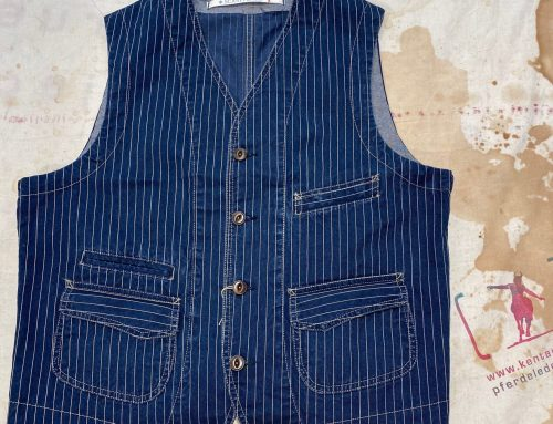 Scartilab 403SG876 Washed Wabash Vest