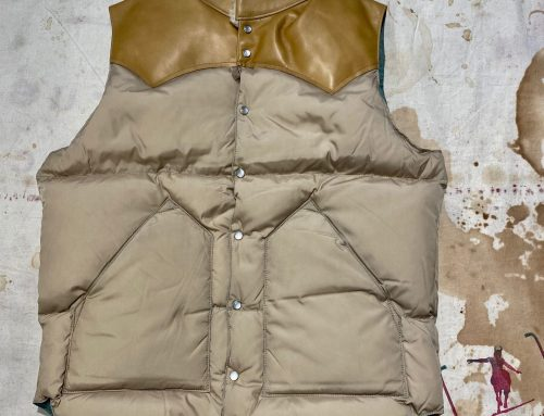 Rocky Mountain Featherbed down vest tan