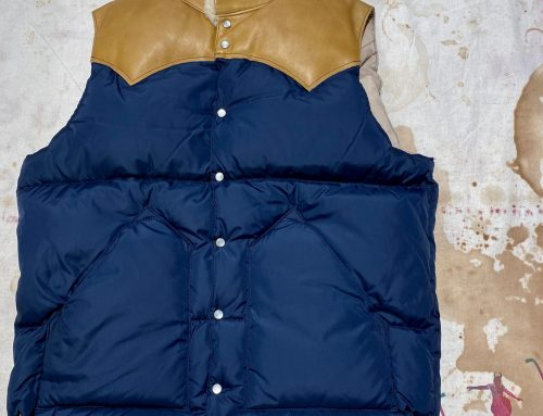 Rocky Mountain Featherbed down vest navy