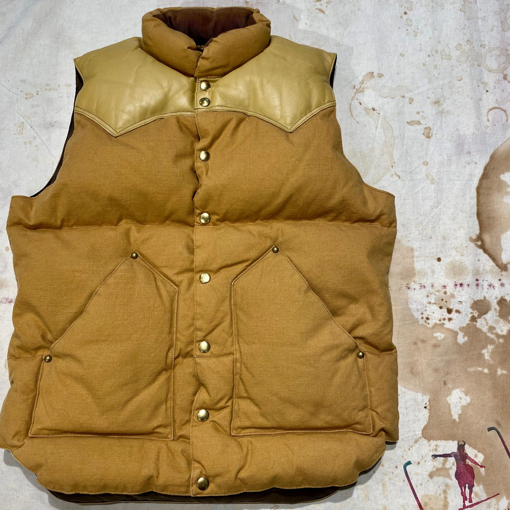 Rocky Mountain Featherbed down vest