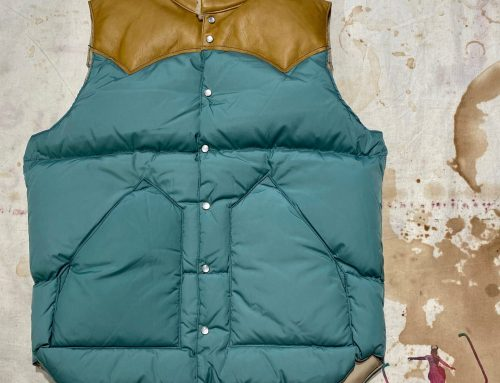 Rocky Mountain Featherbed christy vest emerald green