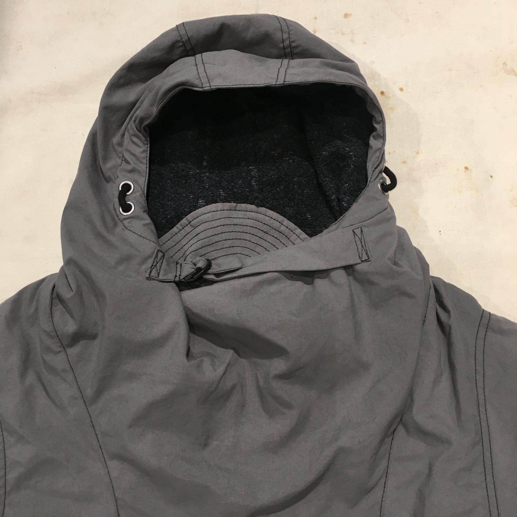 Hansen AW17 Roald Anorak ash gray and black