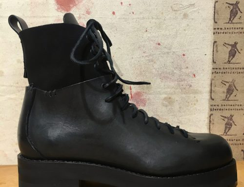 Feit: military hiker boot black