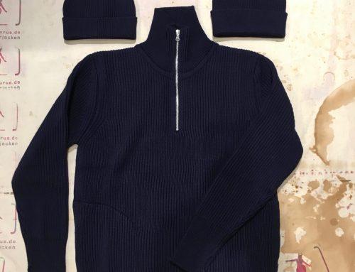 Andersen zip pocket navy