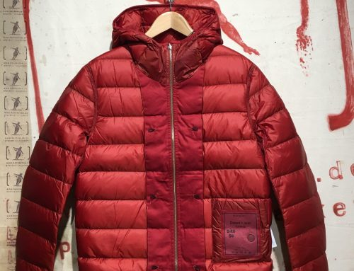 Ten C hooded down liner red
