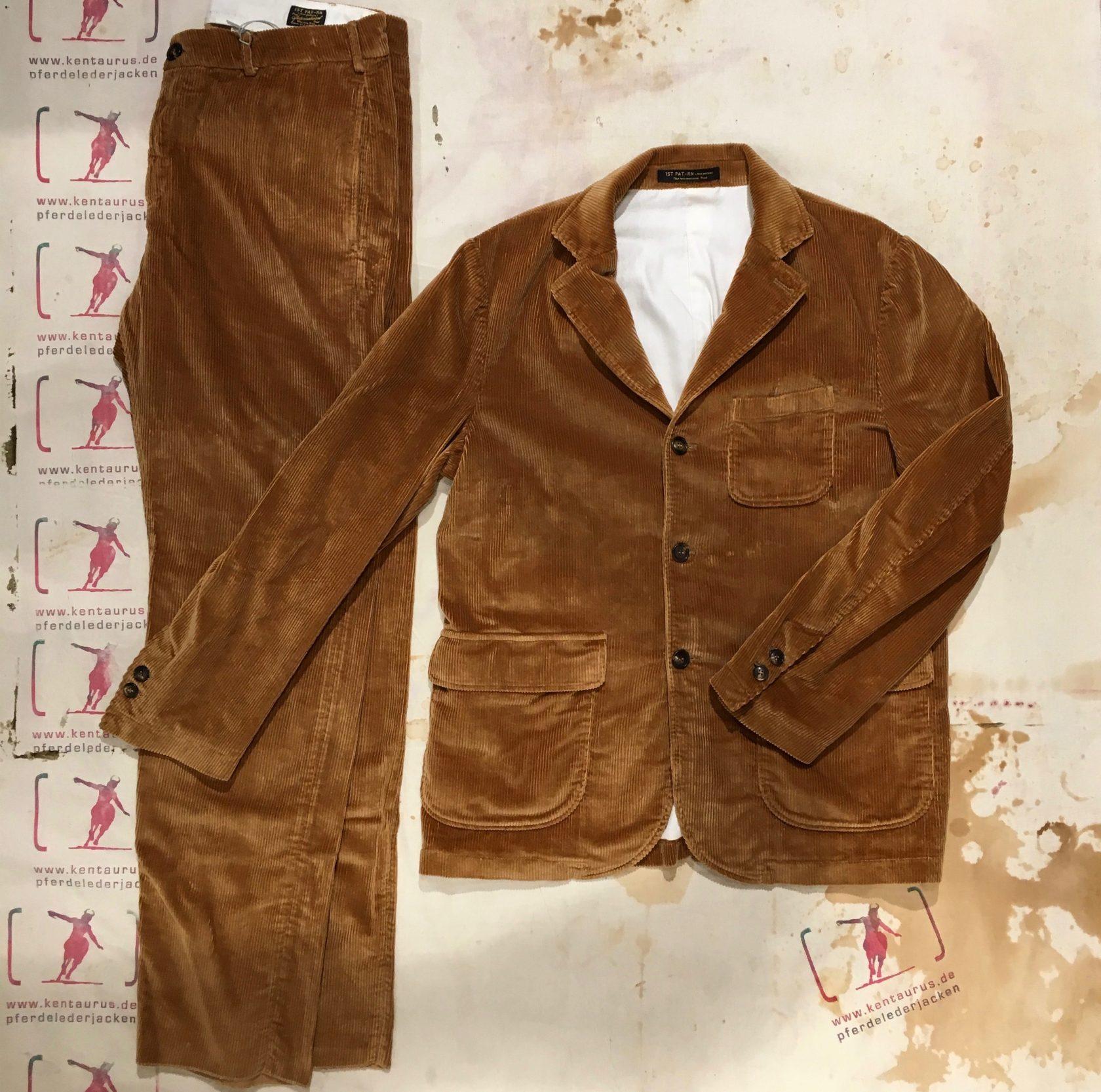 1st-Pat-rn Suit Woody