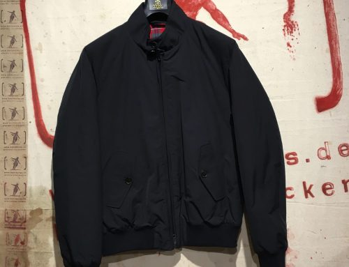Baracuta AW17 G-9 thermal dark navy