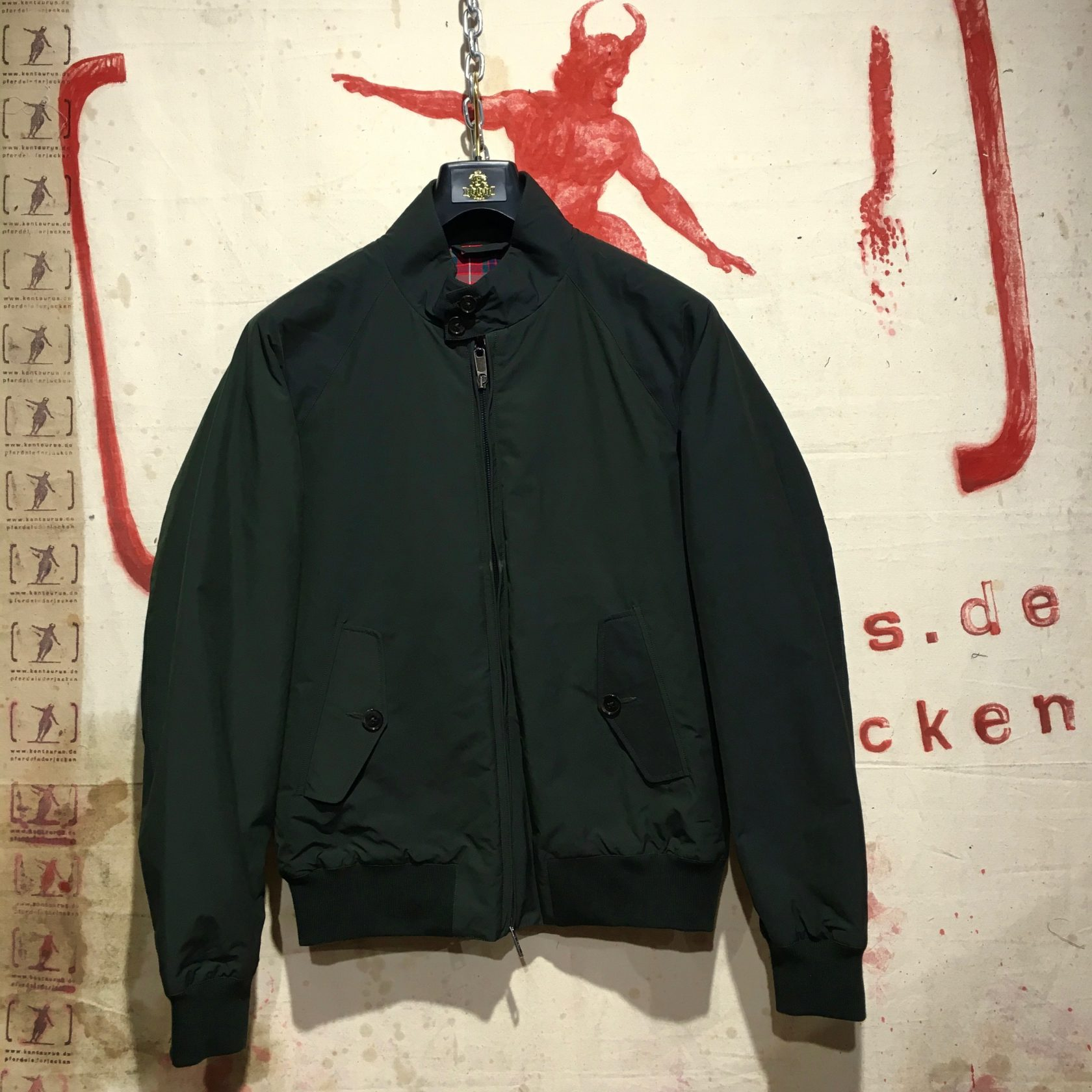 Baracuta AW17 thermal G-9 forest