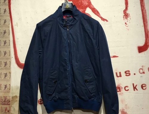 Baracuta  G-9 waxed cotton