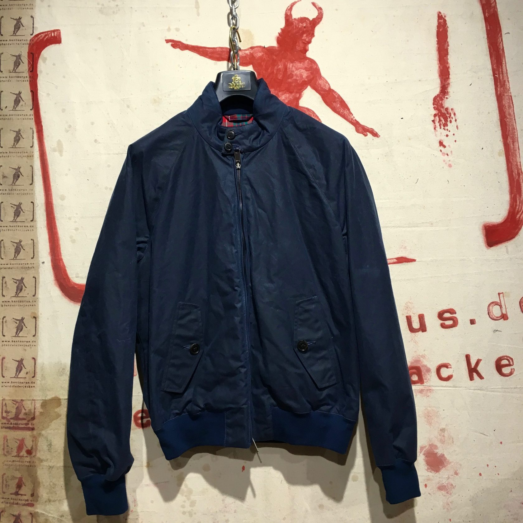 Baracuta AW17 G-9 waxed cotton