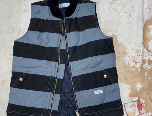 Road Runner striped vest