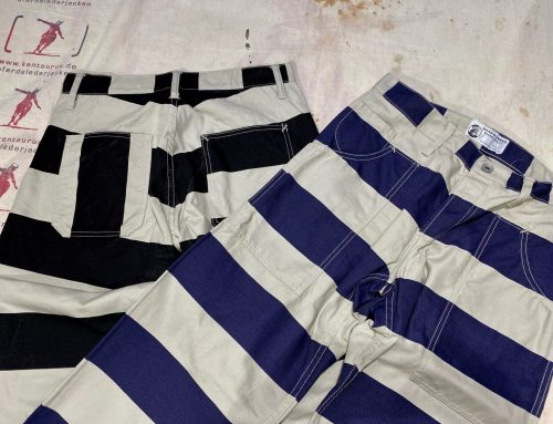 Road Runner prison stripe pants