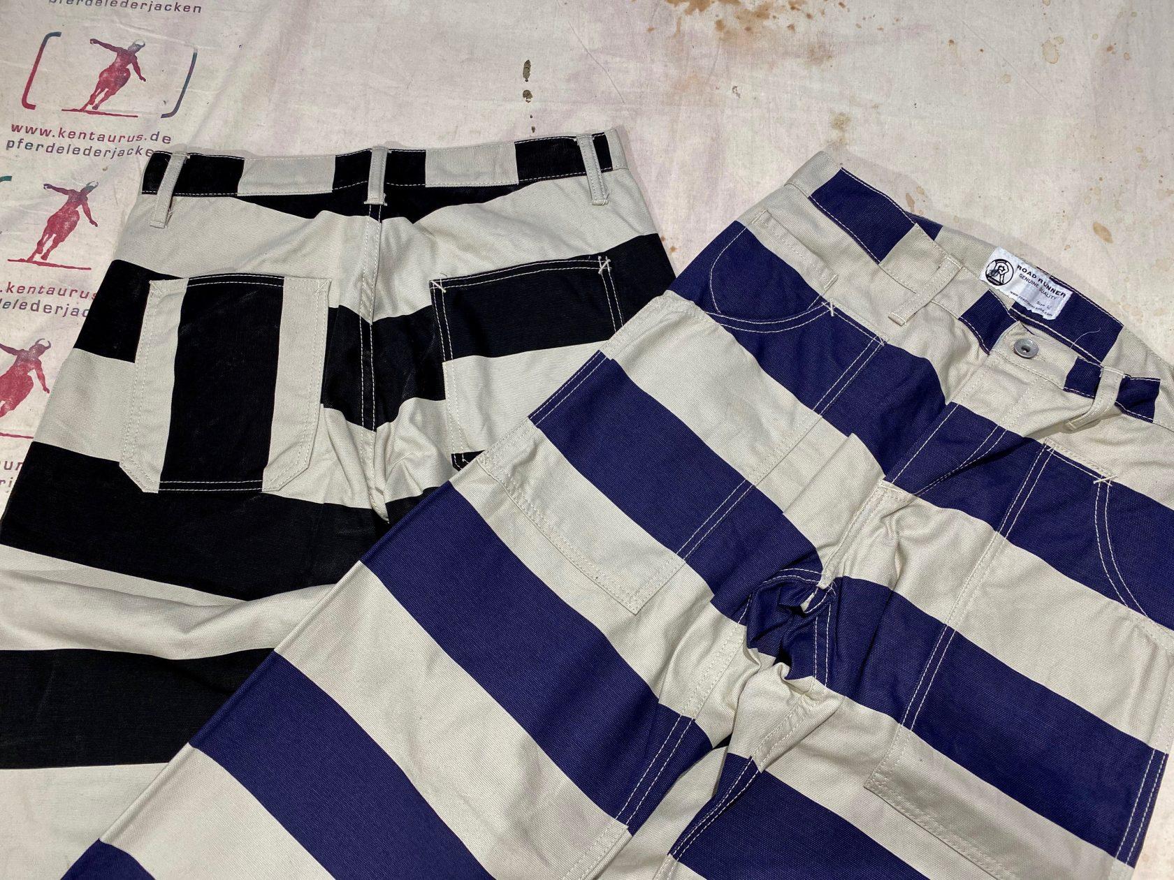 Road Runner prison stripe pants