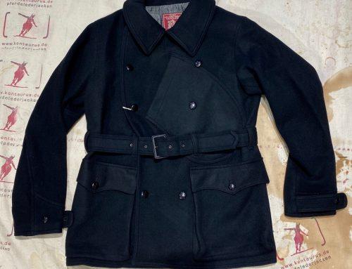 Adjustable Costume: 1920`s aviator wool jacket