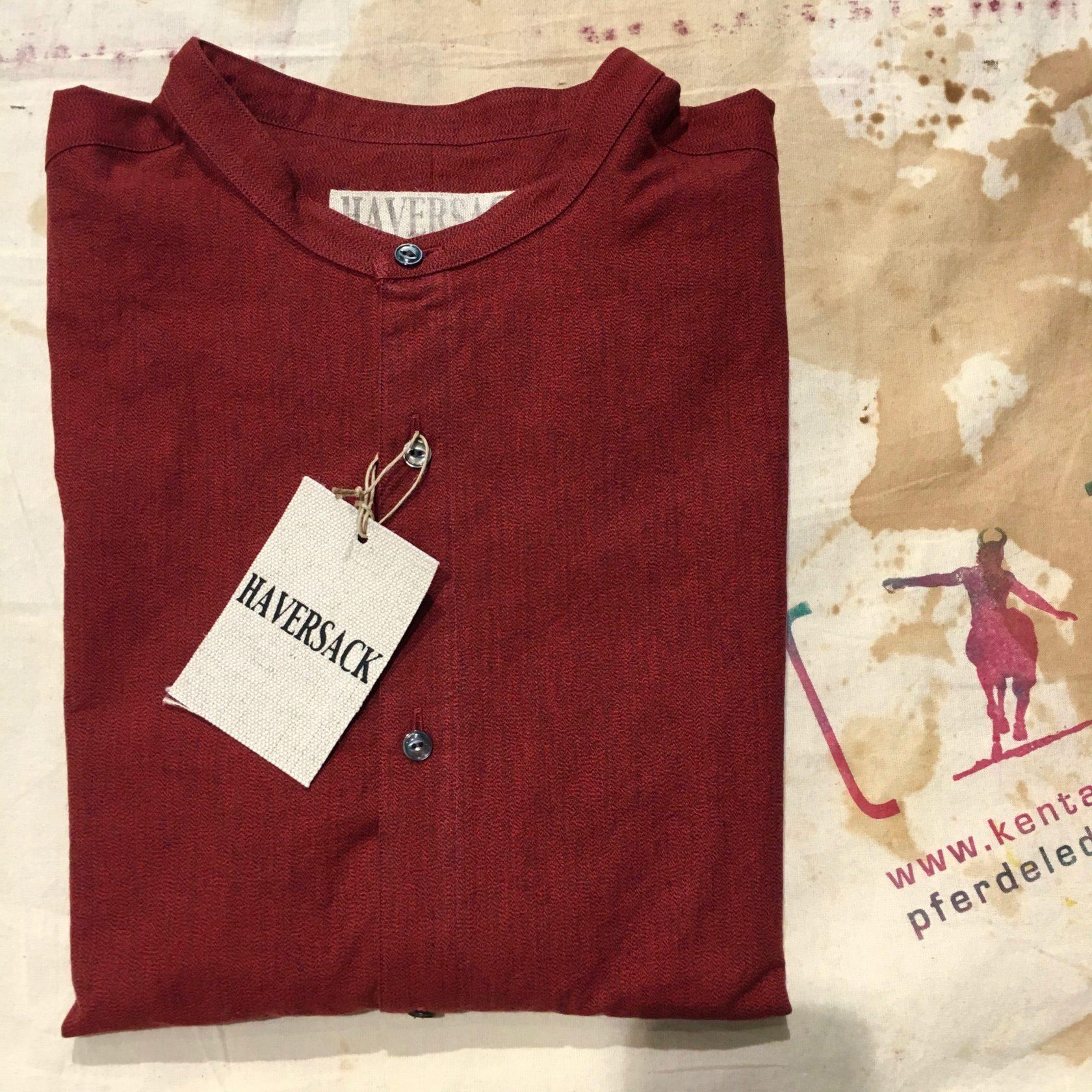 Haversack  red shirt