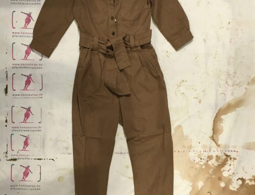 Scartilab  Coverall tan