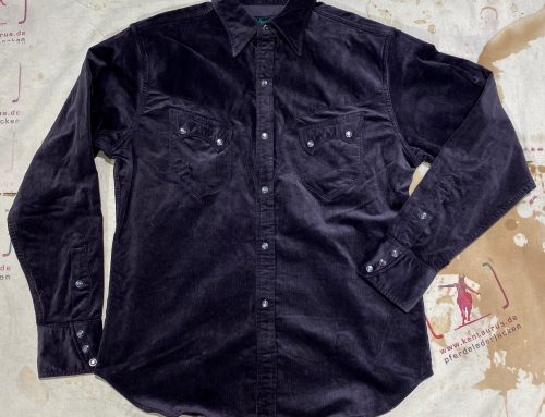 Stevenson Overall cody shirt charcoal