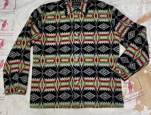 Stevenson Overall lone wolf shirt jacket black