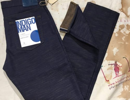 Japan Blue 18oz heavy slub selvage denim