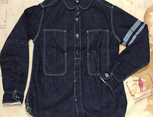 Momotaro jail pocket shirt