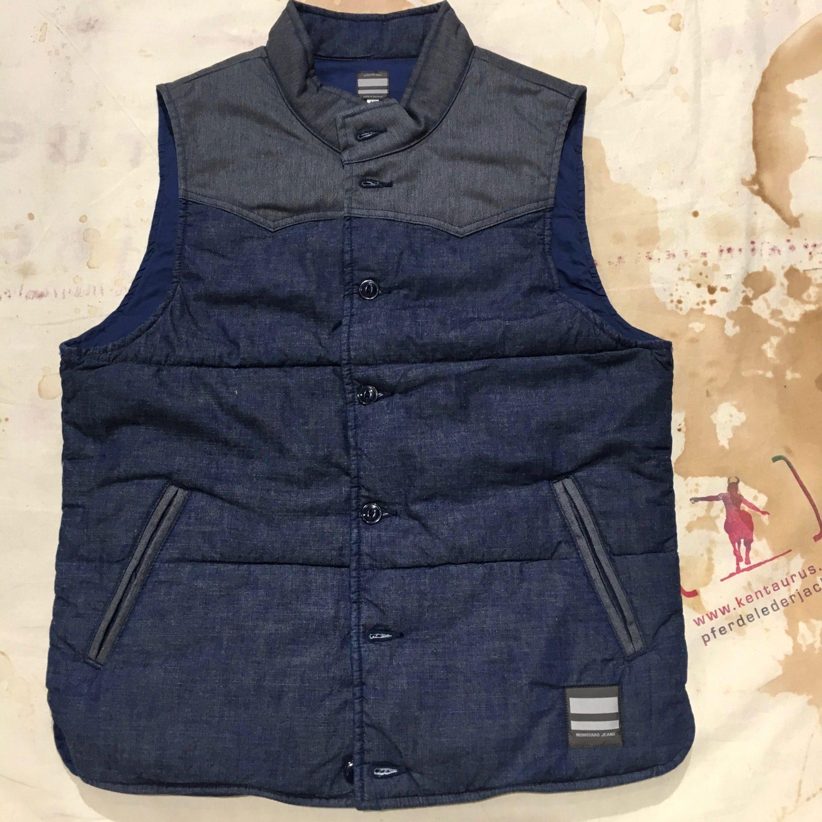 Momotaro chambray vest