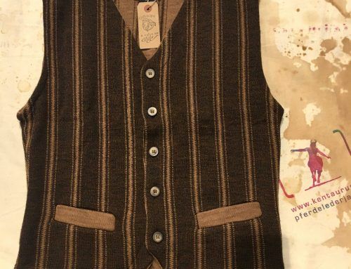 A Piece of Chic wool vest brown