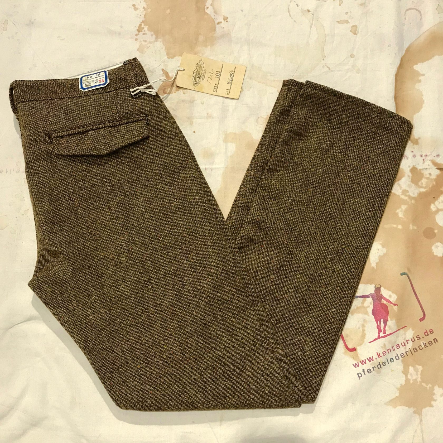 Scartilab  wool pants