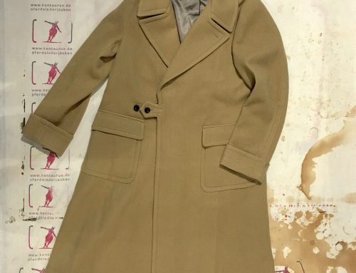 Haversack cashmere coat