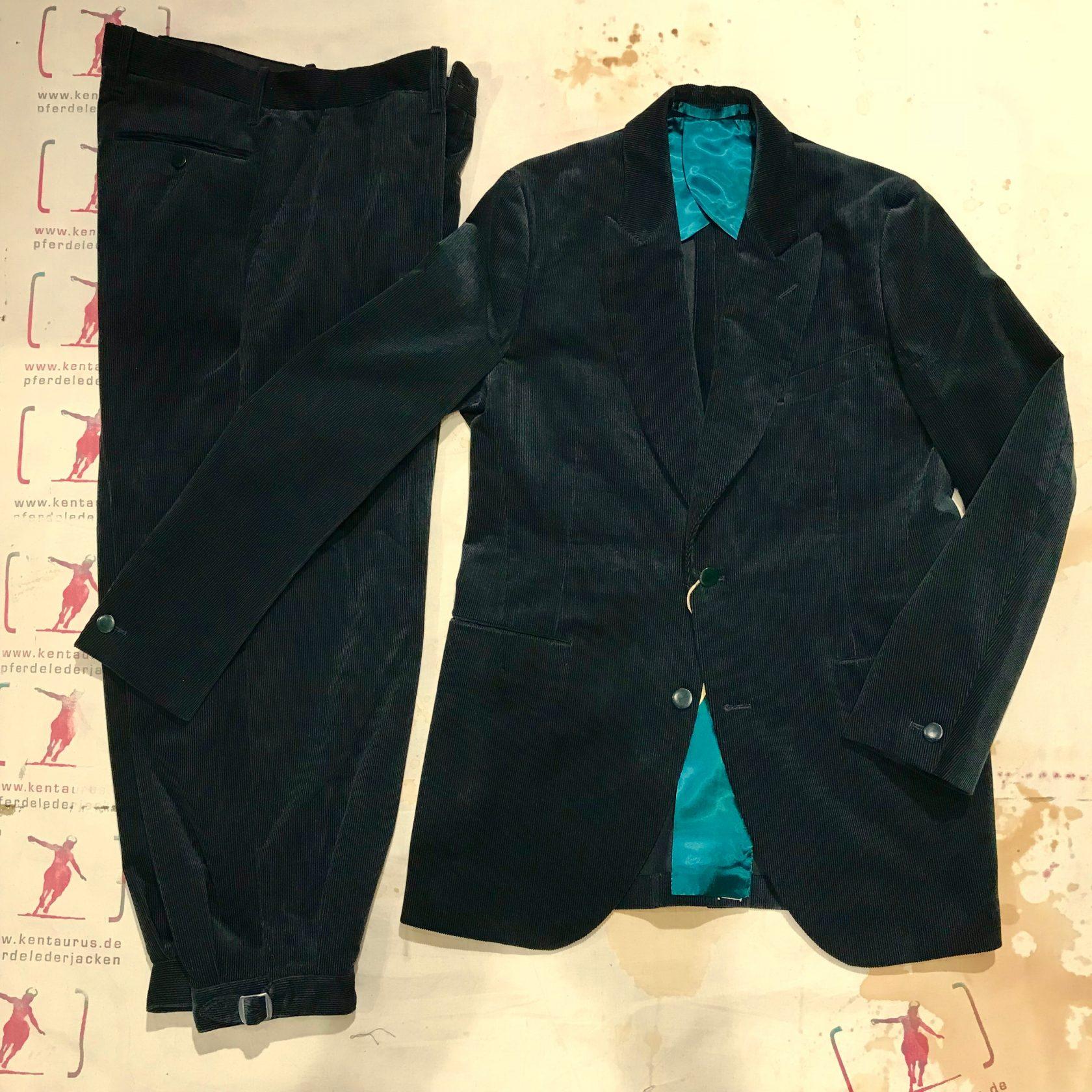 Haversack cord suit green