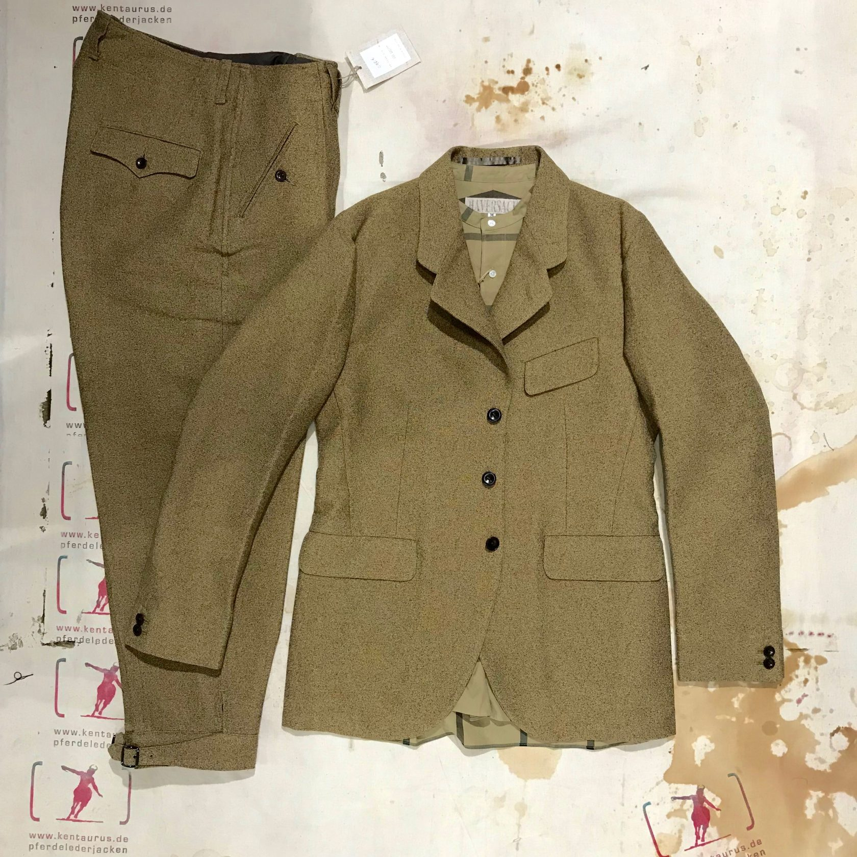 Haversack  3 piece suit