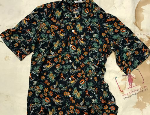 Salvatore Piccolo Hawaii shirt H-TX/F 11