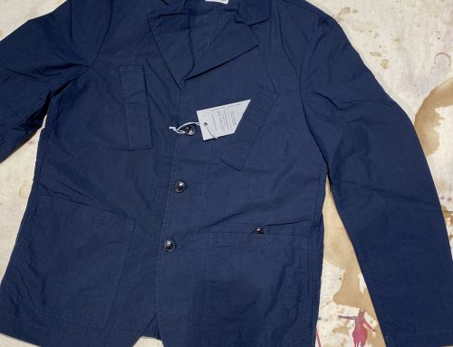 First Pat-rn cruiser jacket blue