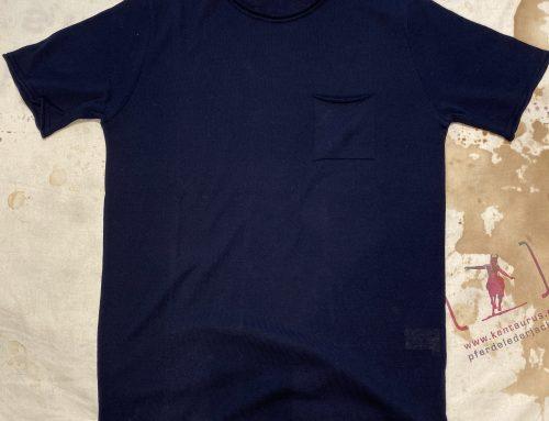G.R.P.  neo girocollo corta blu