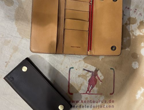 Croots vintage leather worker wallets