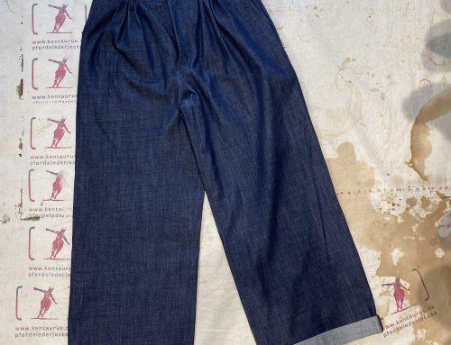 Braves & Company edith female culotte 11,5 oz denim