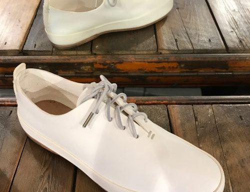 Feit hand sewn court white