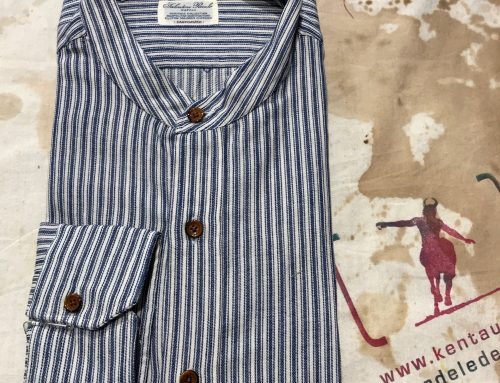 S. Piccolo TXP 714 H striped shirt