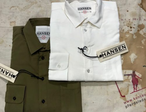 Hansen: henning shirts white and olive