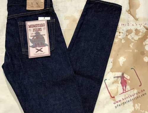 Momotaro 0306-C denim copper