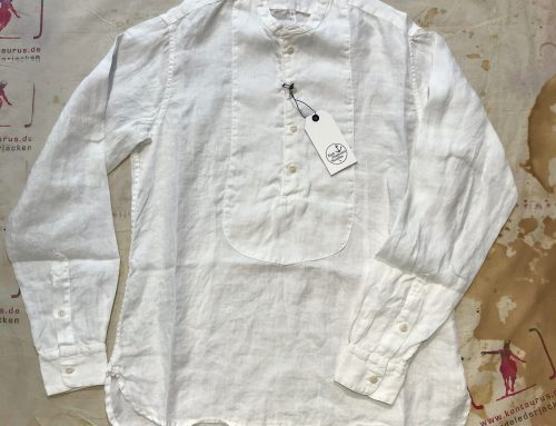East Harbour Surplus kirk shirt white and black