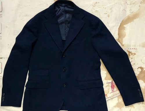 Salvatore Piccolo blue summer jacket G-R/ST 27