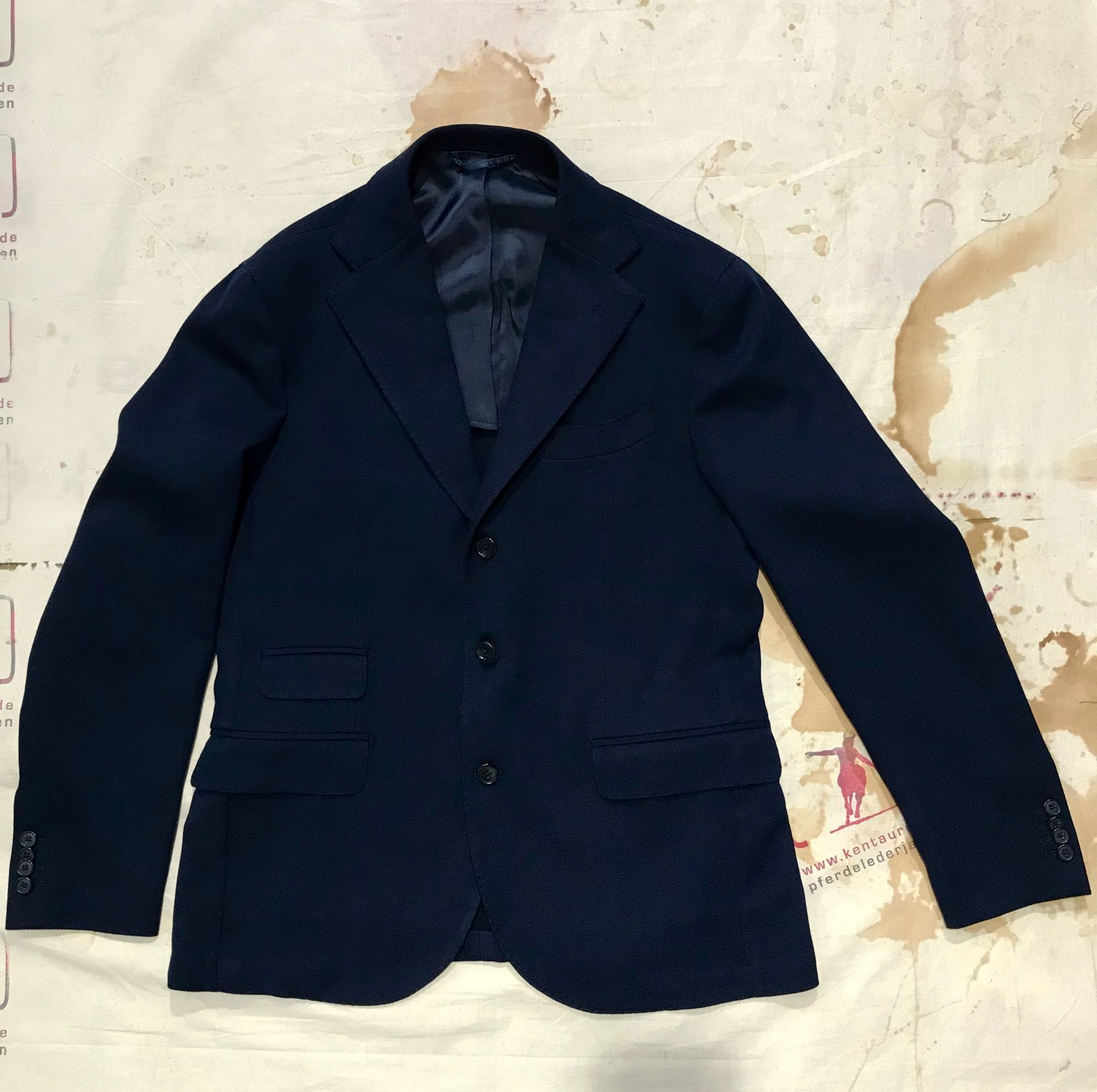 S.Piccolo blue summer jacket