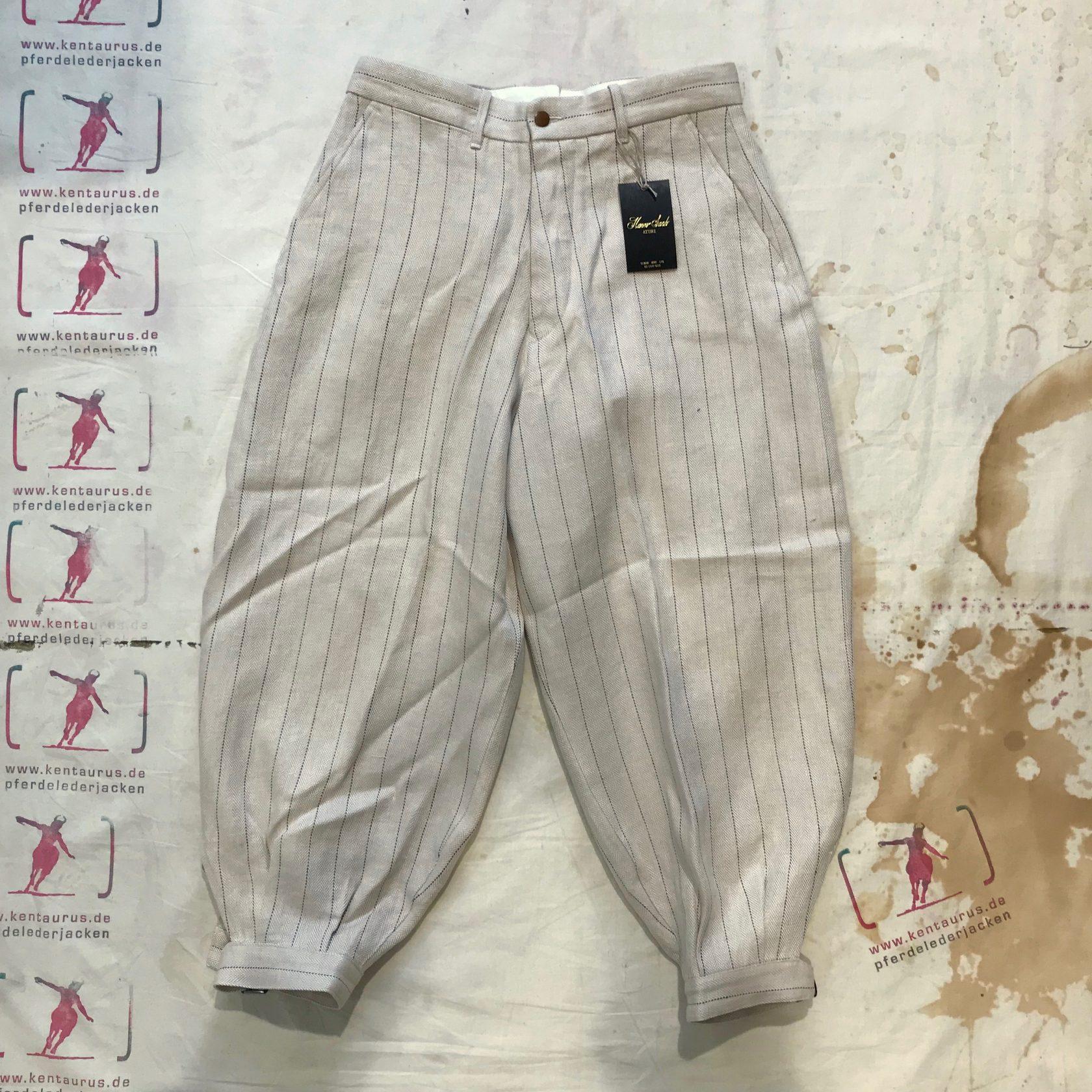 Haversack striped linen pant