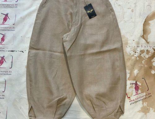 Haversack linen pant