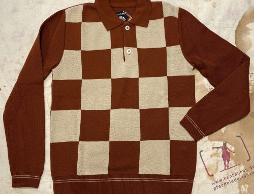A Piece of Chic sweater monza rust cream