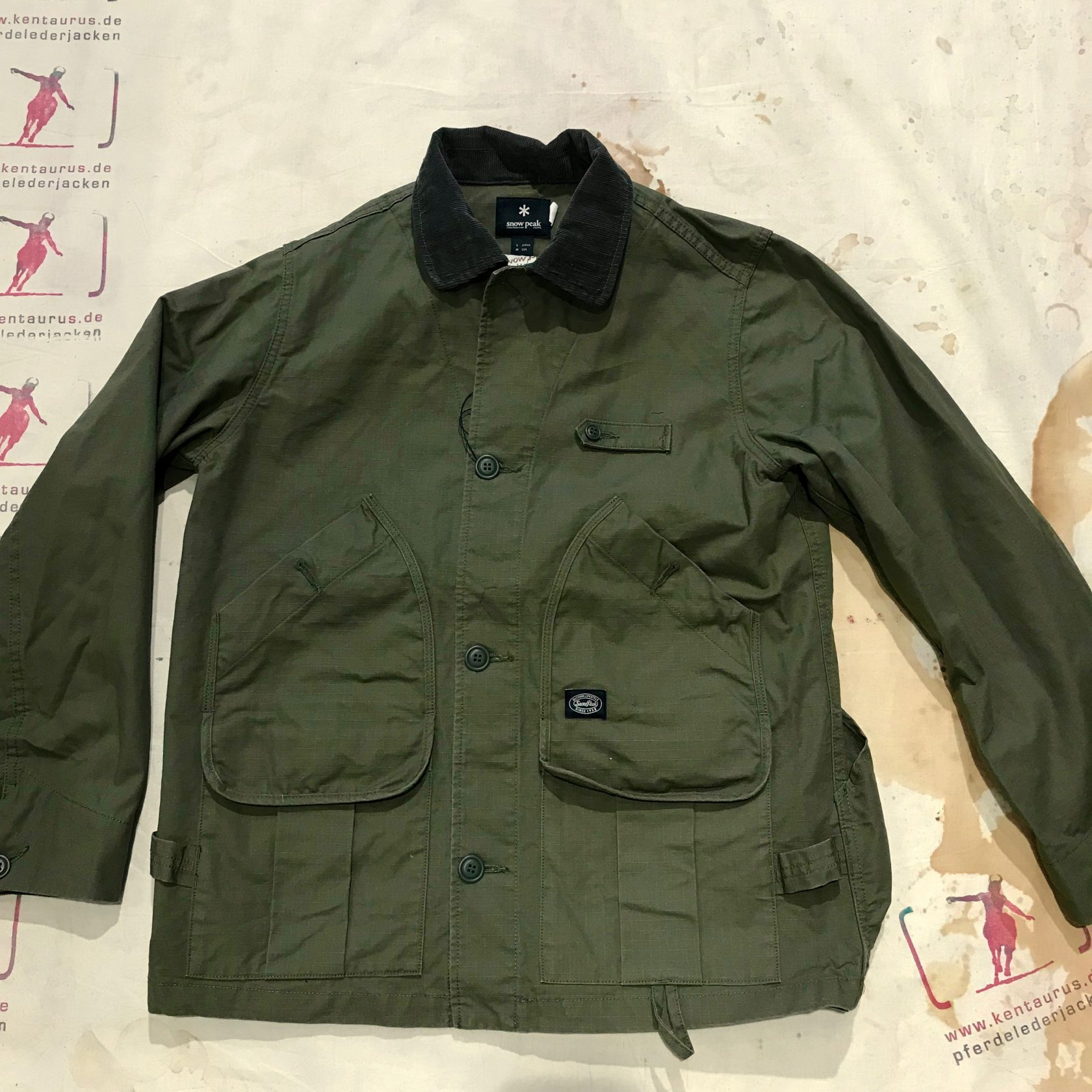 Snow Peak takibi coverall